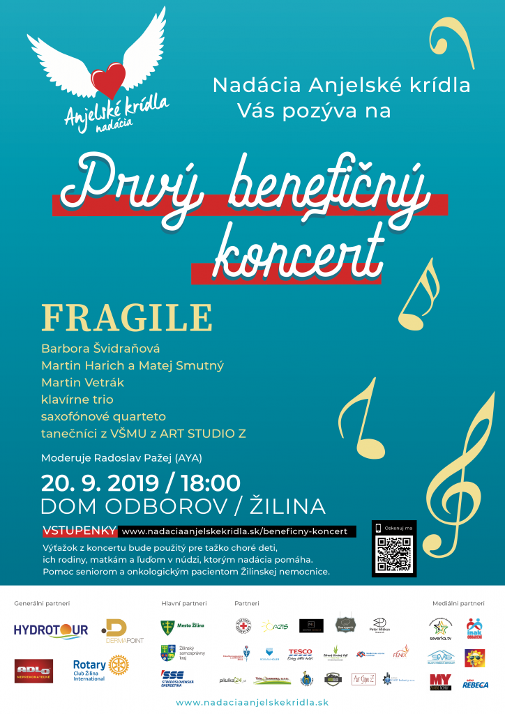 Prvý benefičný koncert