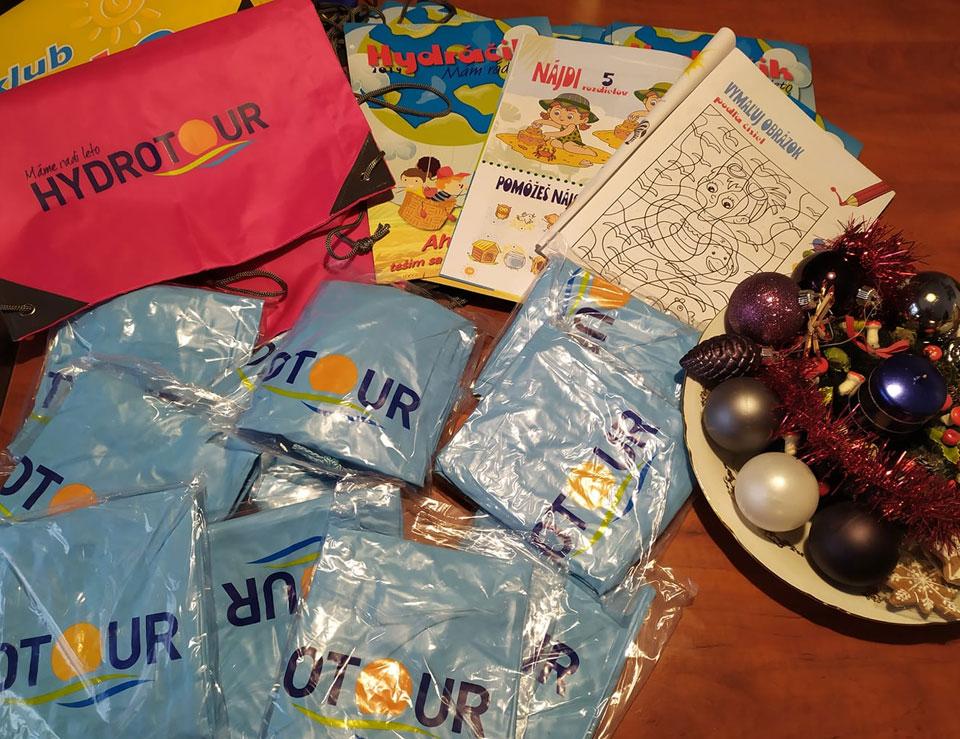 Darčeky od Hydrotour