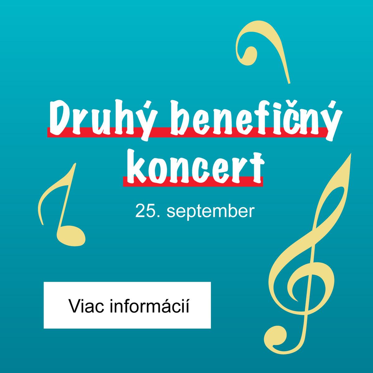 Benefičný koncert - Žilina 2020